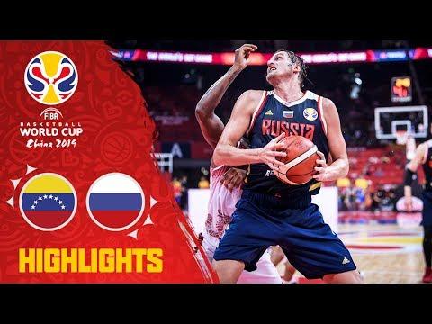 Venezuela v Russia - Highlights - FIBA Basketball World Cup 2019