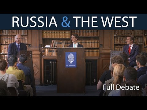 Russia | Full Head-to-Head Debate | Oxford Union