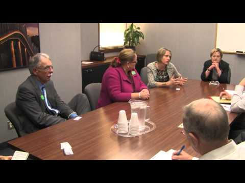 State Supreme Court justices talk with editorial board