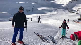 Stubaier Gletscher, Austria, Ski resort