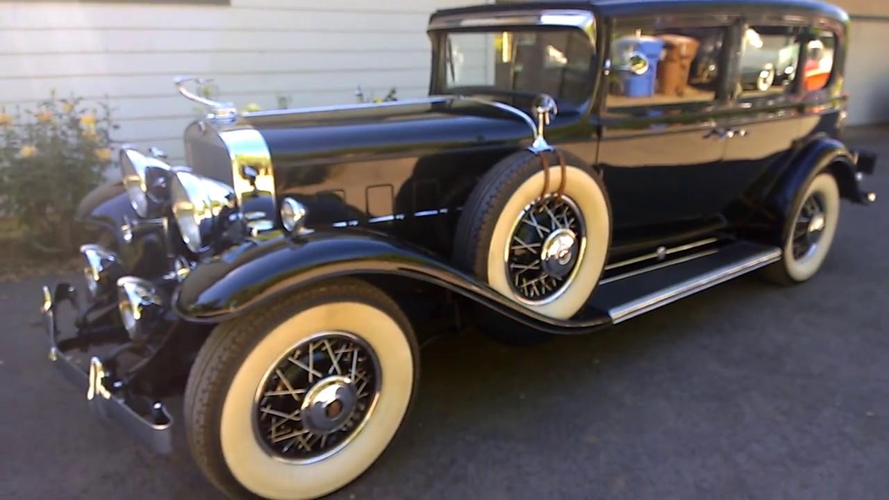 1931 cadillac v12 model 370a short inspection and test. Black Bedroom Furniture Sets. Home Design Ideas
