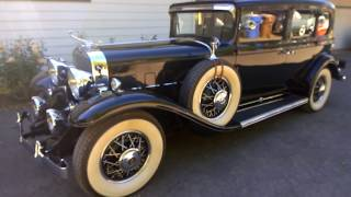 1931 Cadillac V12 model 370A Short Inspection and test drive.
