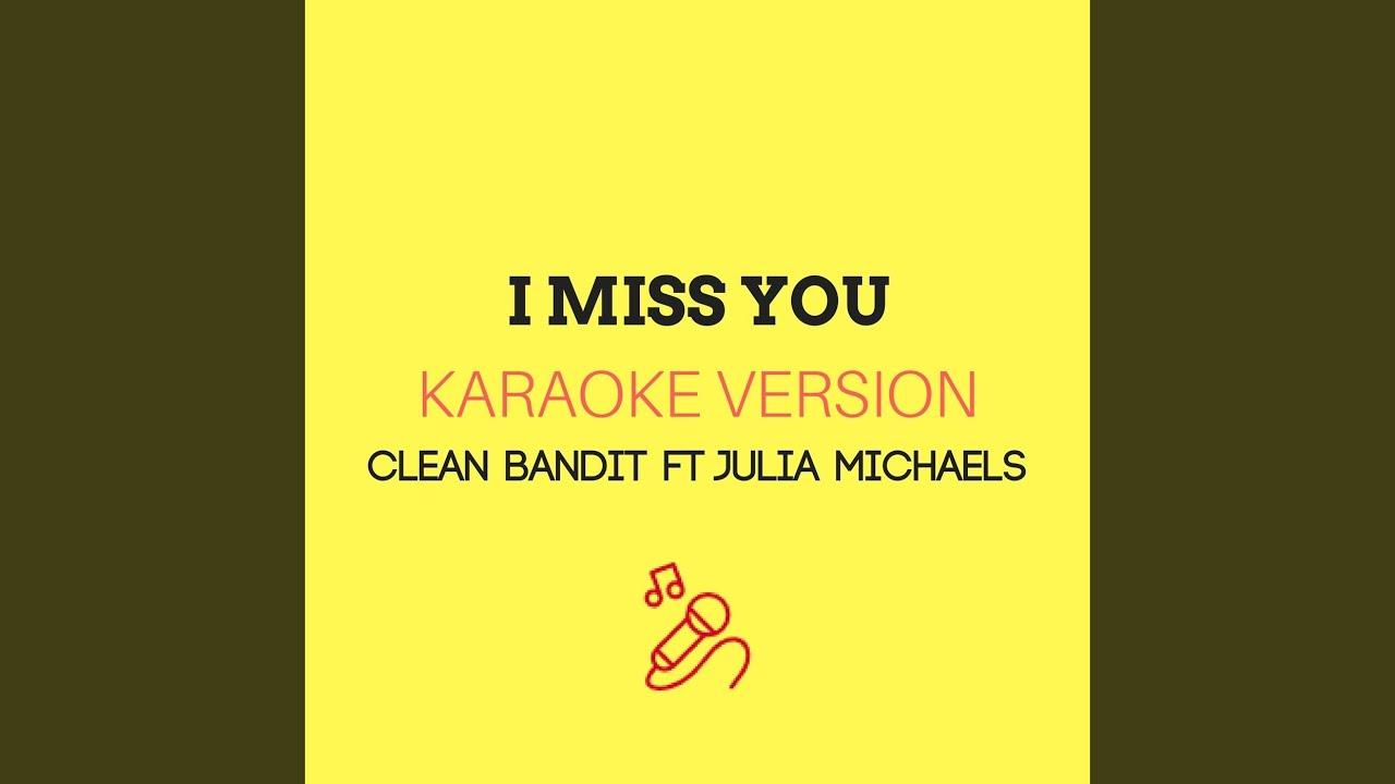 Download I Miss You (Karaoke Version)