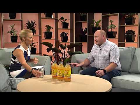 stu-vaughan-from-health-2000-talks-about-bragg-apple-cider-vinegar-on-the-cafe