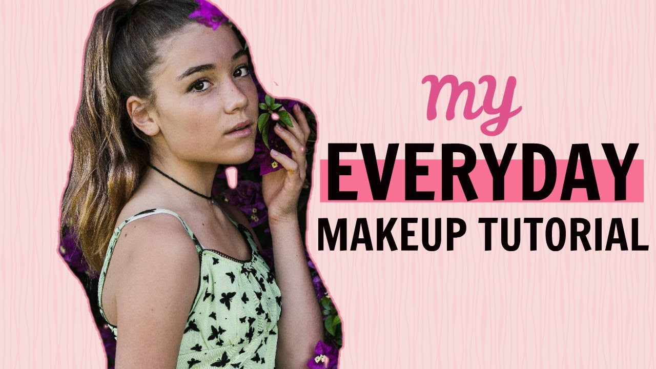 Makeup for Beginners: Everyday Makeup Tutorial | Step by Step | Clementine Lea