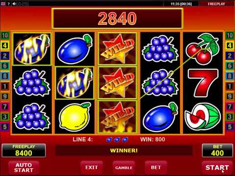 Wild Stars video slot - Amatic casino game Review