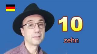 """初級德語─數字""""Zahlen"""" 1到20"""