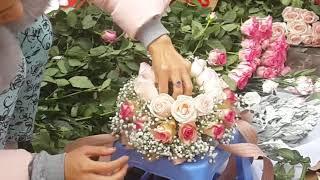 Cắm hoa- cắm hoa hồng ngày cưới