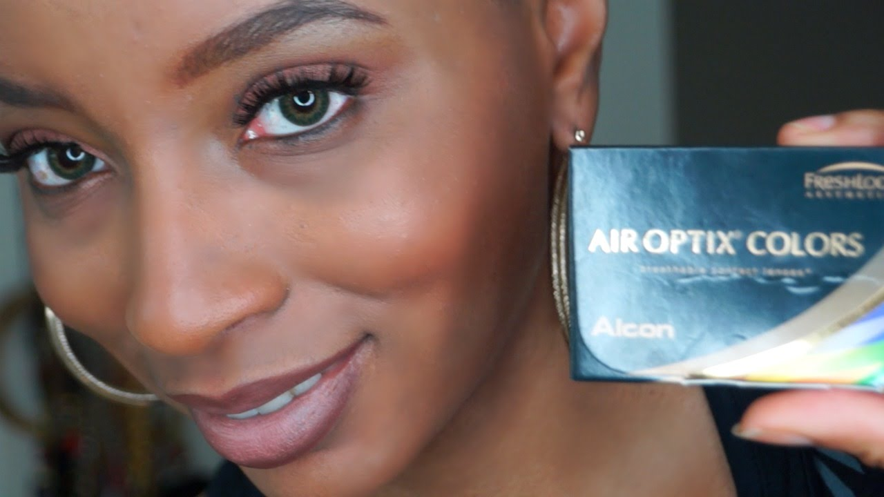 Air Optix Gray Vs Sterling Gray HD Close Ups! HD - YouTube