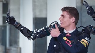 Max Verstappen tests his Futuristic Robot Arms - Careers at Exact