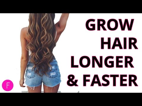 How To Grow Hair Longer and Faster | 6 Hacks To A Longer Beautiful Hair!