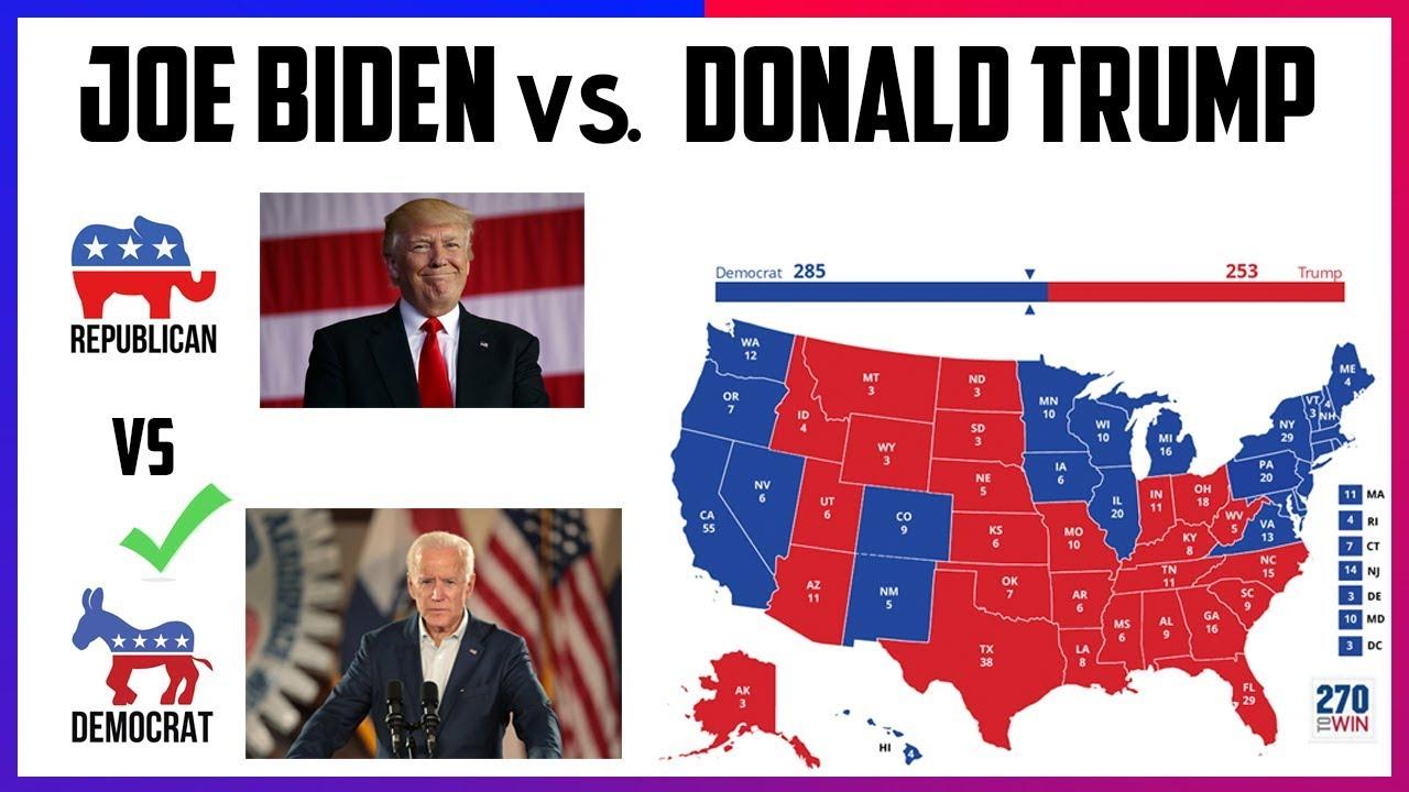 2020 Election Prediction | Joe Biden vs Donald Trump