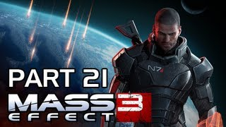 Mass Effect 3 Walkthrough - Part 21 General Oraka PS3 XBOX 360 PC (Gameplay / Commentary)