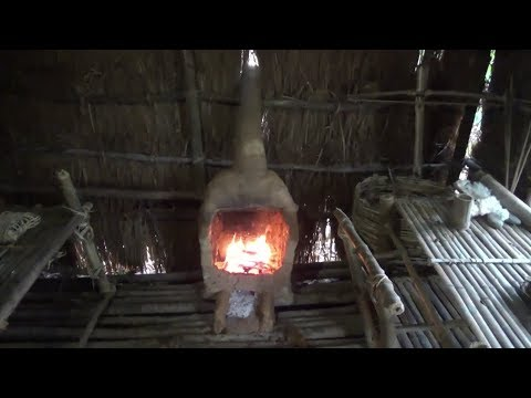 Primitive Life Build Fireplace In The Shed Youtube