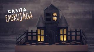 ¡Haz una casa embrujada para tus dulces! MUY FÁCIL / Paperpop