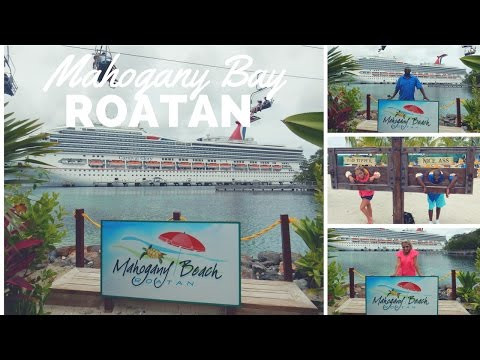 Mahogany Bay Travel Vlog What to do in port!