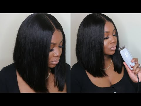 PERFECT BOB HAIR CUT TUTORIAL