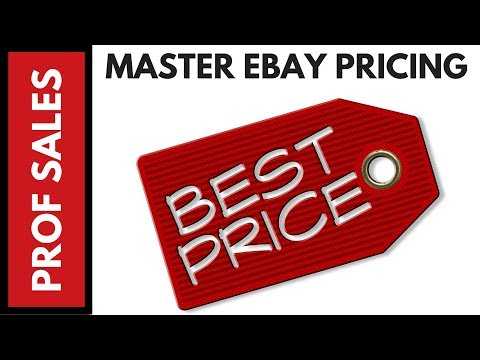 How to Find the Right Ebay Price for Your Items