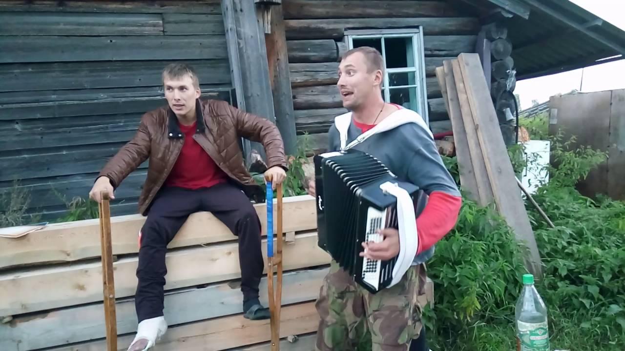 Деревенский выпивон видео