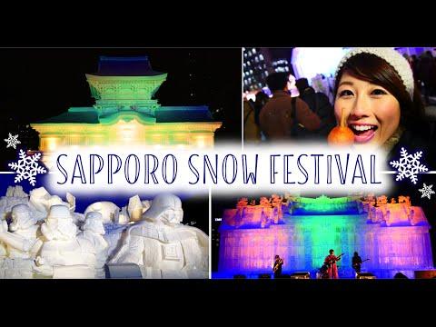 Amazing Snow Festival in Hokkaido | 札幌雪まつり!