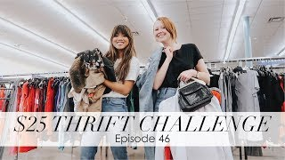 bychloewen $25 Thrift Challenge - Episode 46 // AMAZING OUTERWEAR!