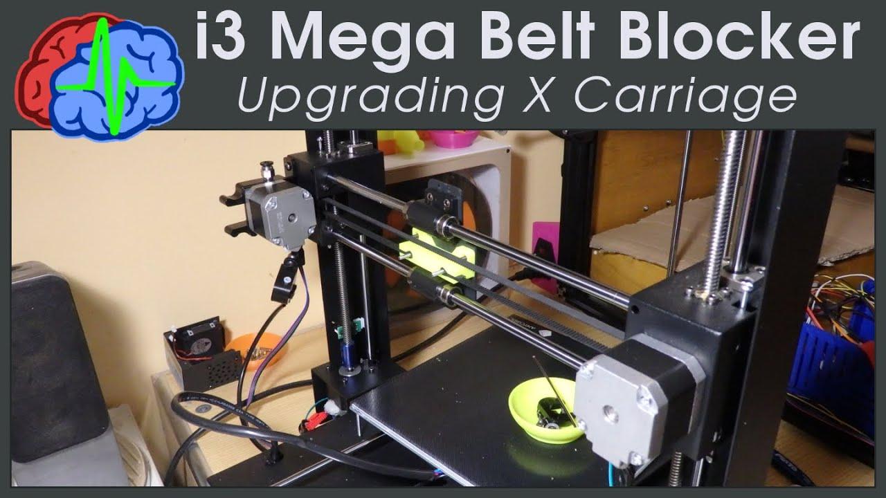 Anycubic i3 Mega - Upgrading belt blocker