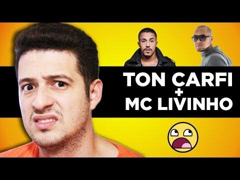 TON CARFI E MC LIVINHO CANTANDO JUNTOS? REAGINDO AO  MINHA VEZ