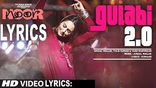 Noor: Gulabi 2.0 Full Lyrics Song | Sonakshi Sinha | Amaal Mallik, Tulsi Kumar | AvinashRocking