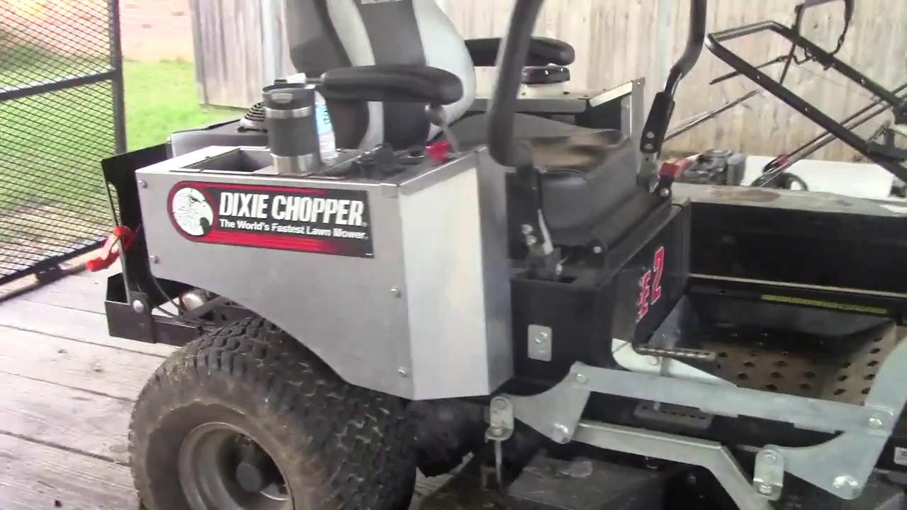 Zee 2 Dixie Chopper Zero Turn Mower Review, Gto Lawn Care