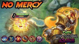 Yumi No MERCY !! Yumi Top 1 Global Aldous Build 2021 ~ Aldous Mobile Legends MLBB