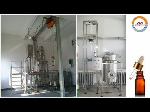 Multifunctional Essential Oil Distillation Equipment Rose Lavender Essential Oil Distiller