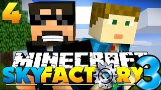 Minecraft: SkyFactory 3 - BUILD-OFF CHALLENGE [4]