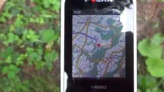 Cartographie sur le Polar V650
