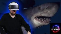 PLAYSTATION VR WORLDS OCEAN DESCENT - HAI ANGRIFF