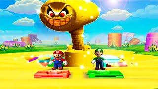 Mario Party 5 MiniGames - Mario Vs Yoshi Vs Peach Vs Luigi (Master Cpu)