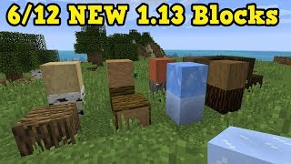 Minecraft 1.13 Pre-2 OUT NOW - THEY FIXED IT & 6 Secret Blocks