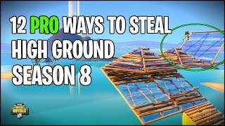 New FASTEST Way to Take High Ground (Fortnite Tips and Tricks)