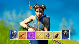 Fortnite Eliminating All Mythic Bosses in One Game & Mythic Weapons Gameplay