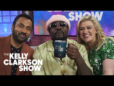 Wale Critiques Kal Penn And Kelly's Rap Skills | The Kelly Clarkson Show
