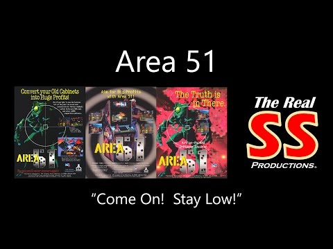 Area 51 (Arcade) Gameplay