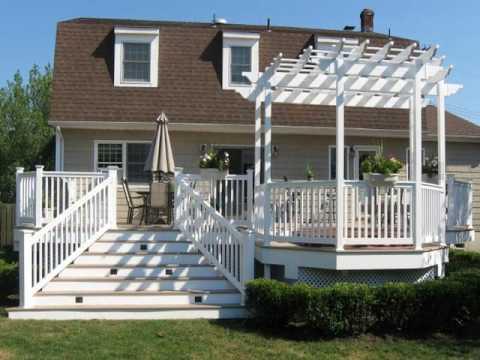 Building A Freestanding Pergola On A Deck