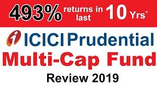ICICI Prudential Multi Cap Fund Review 2019 | ICICI Pru Multicap Mutual Fund Analysis & Performance