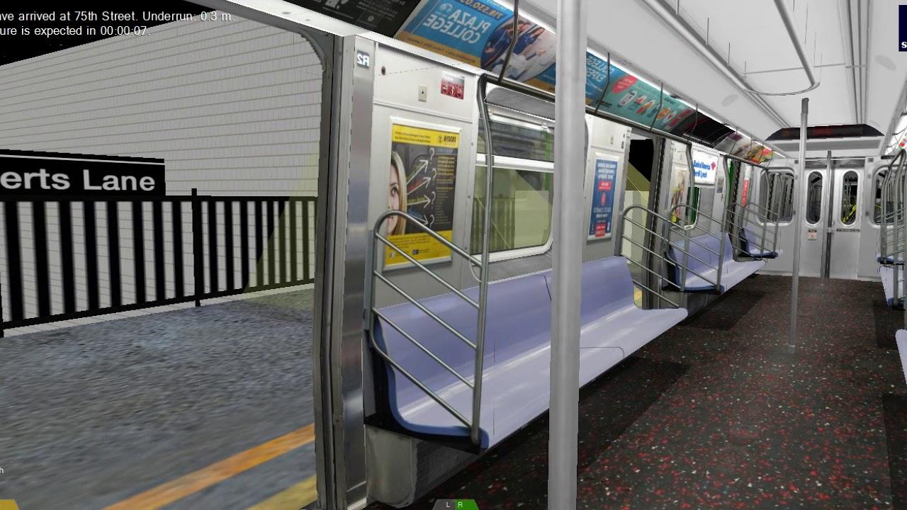 Openbve On Board A Broad St Bound R160 Z Skip Stop Train Youtube