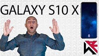 السلاح القاهر من شركة سامسونج الجالكسي أس 10 إكس - Galaxy S10 X