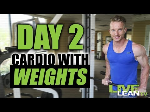DAY 2: COMPLEX WORKOUT - CARDIO WITH WEIGHTS | Live Lean Shred Ep. 02