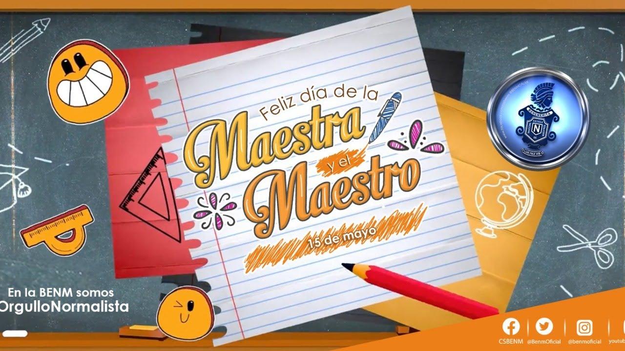 Download #GraciasMaestra #GraciasMaestro. BENM 2021