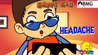 Happy Kid | Headache  | Episode 181 | Kochu TV | Malayalam | BMG