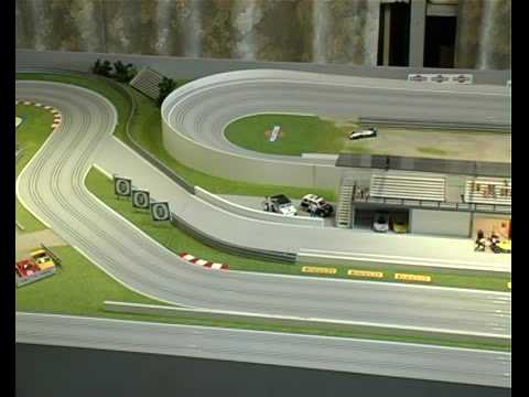 Precision built SlotCar Track Layout  YouTube