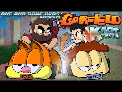 One and Done Bros. | Let's Play: Garfield Kart ft. Gaming Historian | Super Beard Bros.