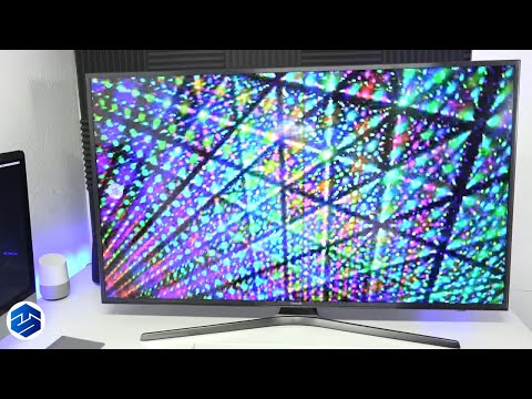 Samsung 4K TV Menu And Apps System